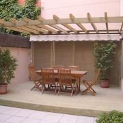 Pérgola en el jardín - Zona Noroeste de Madrid
