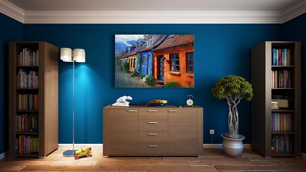 Cómo ganar espacio en el salón redecorando