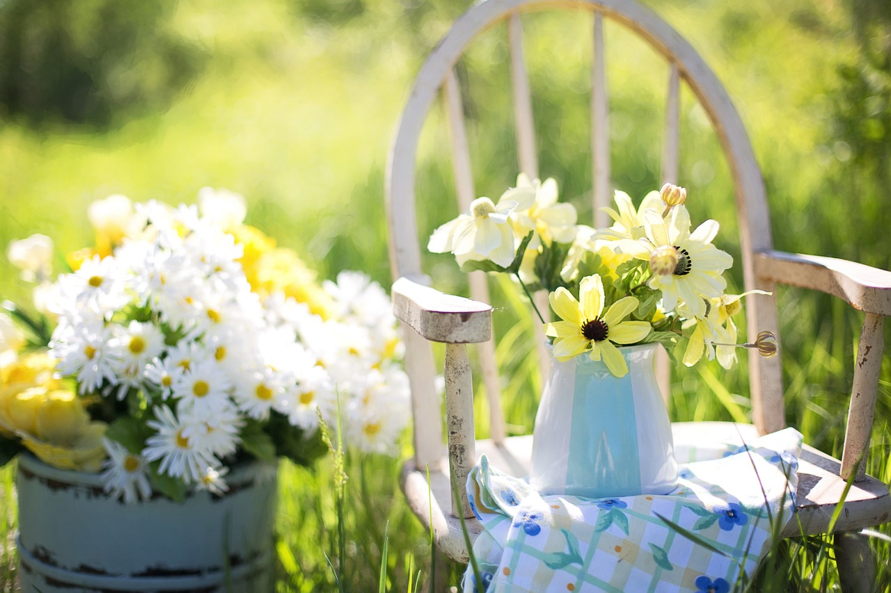 Haz tu jardín paso a paso - decoración