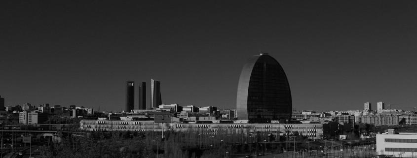 skyline de Madrid - semana de la arquitectura 2015