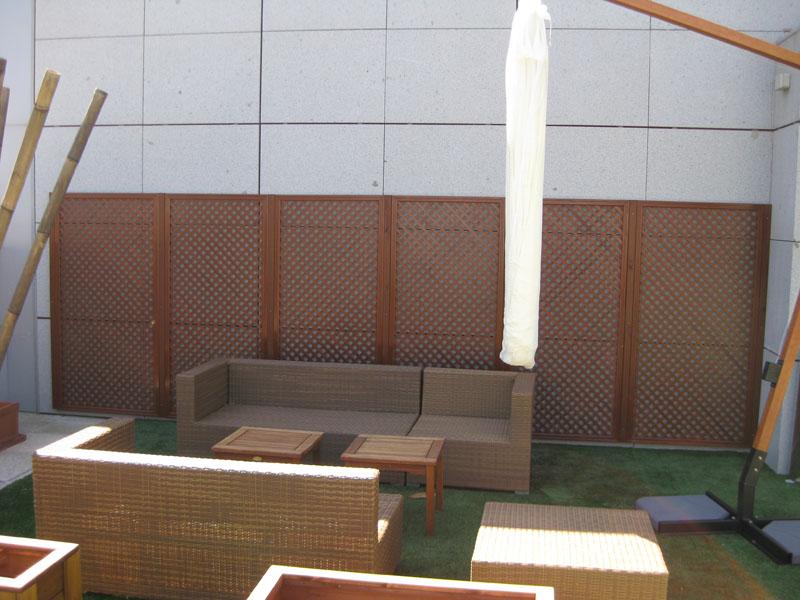 Celosías para terrazas - Matura celosías de madera en Madrid