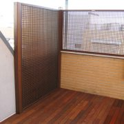 Celosías para terrazas - Matura madera y reformas en Madrid