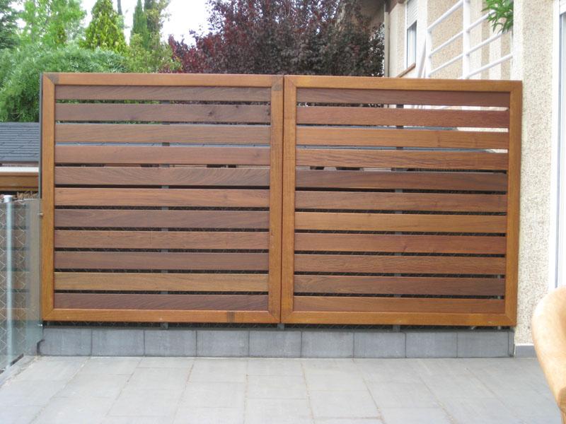 Celosías para terrazas - Matura todo en madera y reformas en Madrid