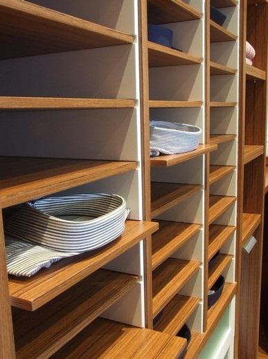 Ejemplo de armario a medida detalles interior - Matura armarios a medida en Madrid