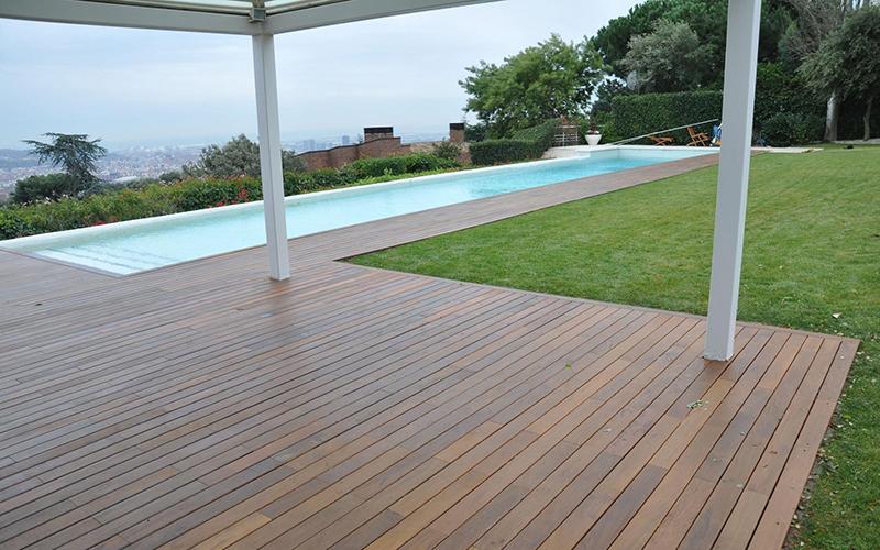 Reformas en general Madrid - Matura - tarima de exterior y piscinas