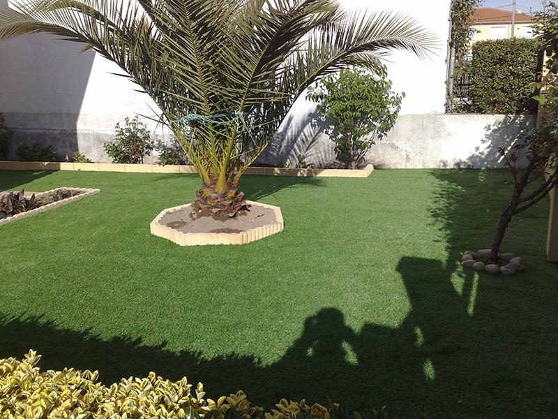 El jardín, después del tórrido verano - Césped artificial - Matura - Blog reformas y paisajismo en Madrid